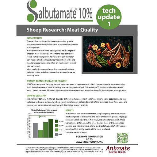 Sheep meat quality