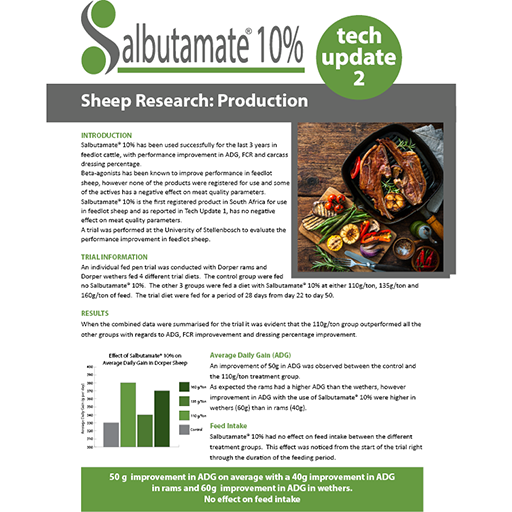Sheep Production Information